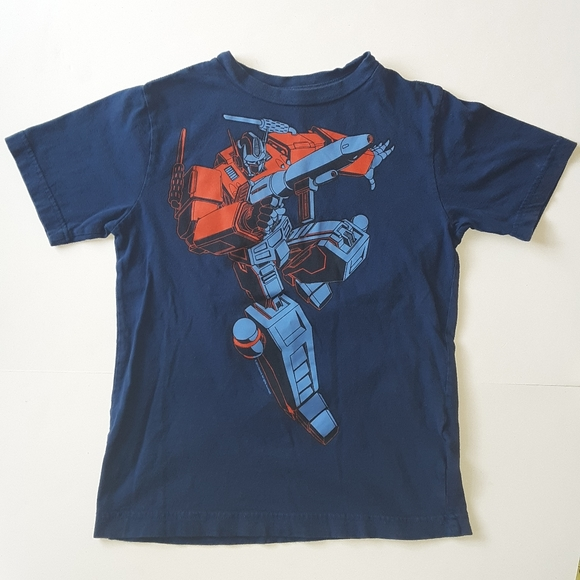 Transformers Boys Short Sleeve T-Shirt